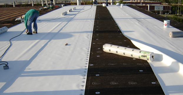 Impermeabilizaci n de techos de lamina o met licos abinco for Tipos de techos ligeros para casas
